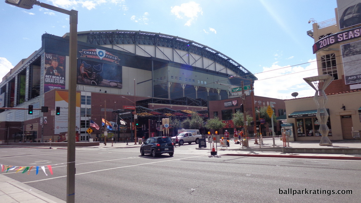 Chase Field exterior architecture