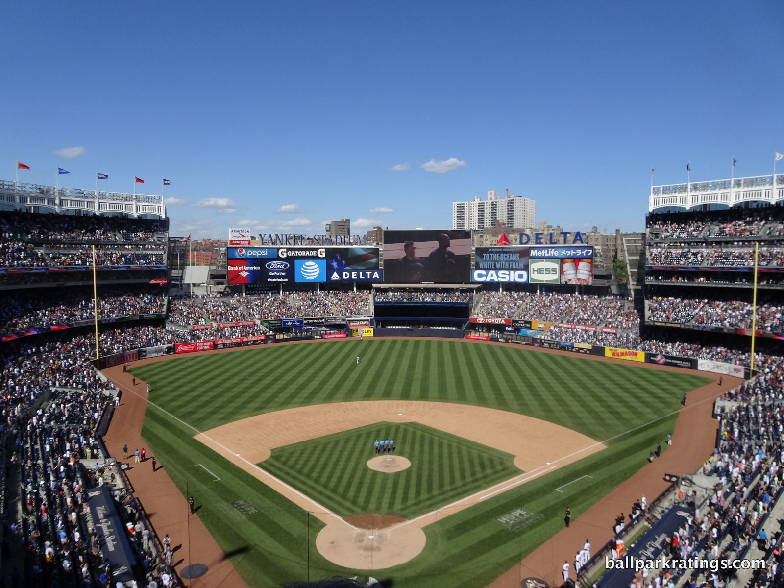 Yankee Stadium view