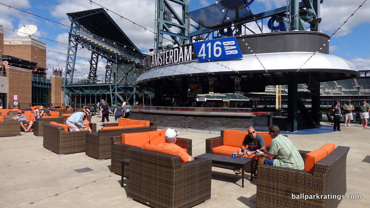 Comerica Park New Amsterdam 416 Bar