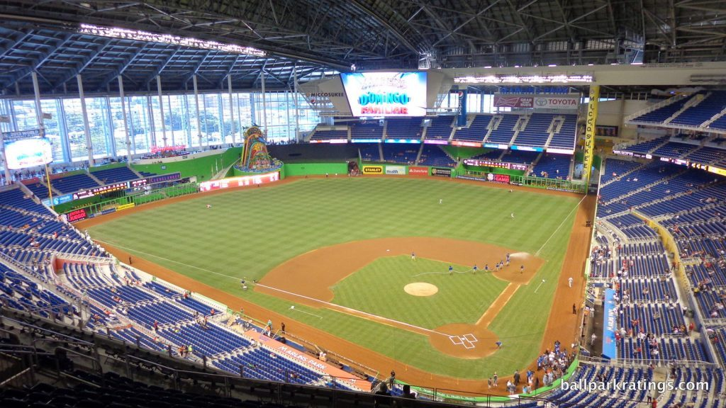 Marlins Park view