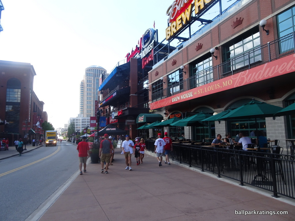 Busch Stadium ballpark village