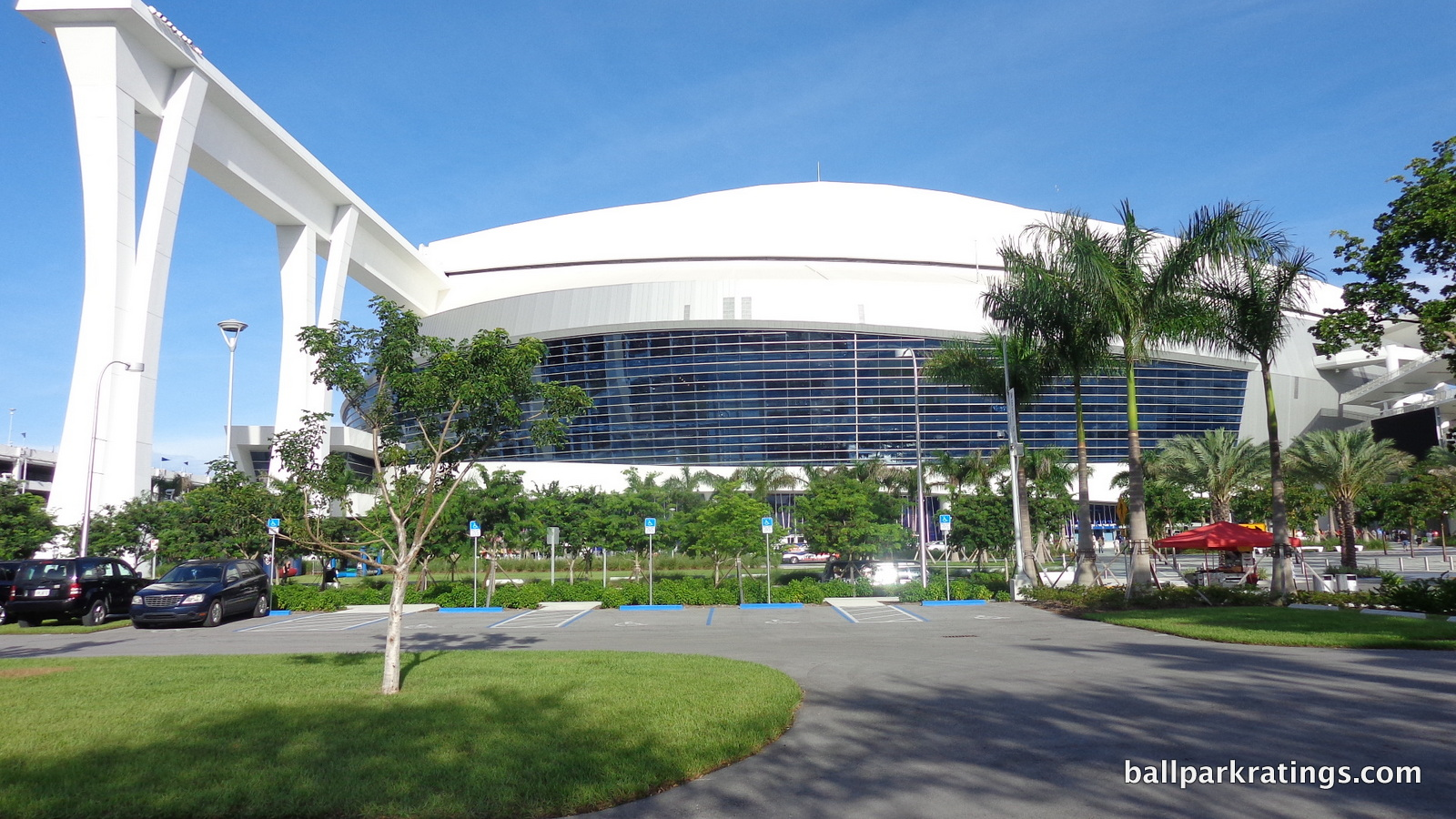 Marlins Park exterior design