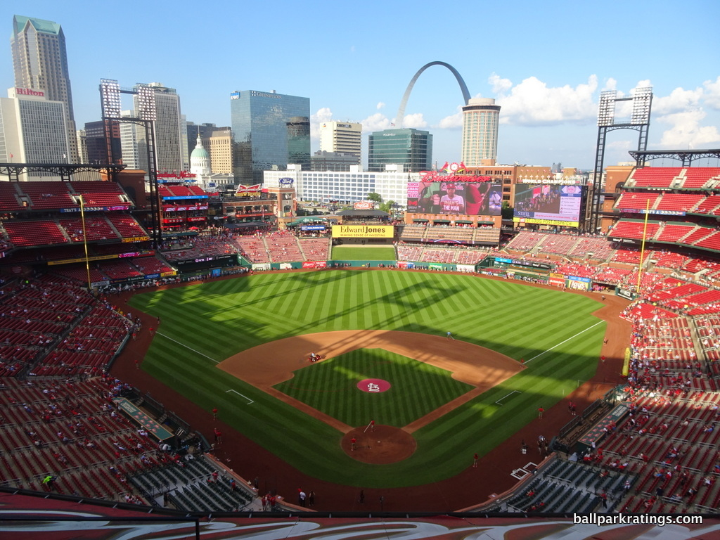 Busch Stadium view