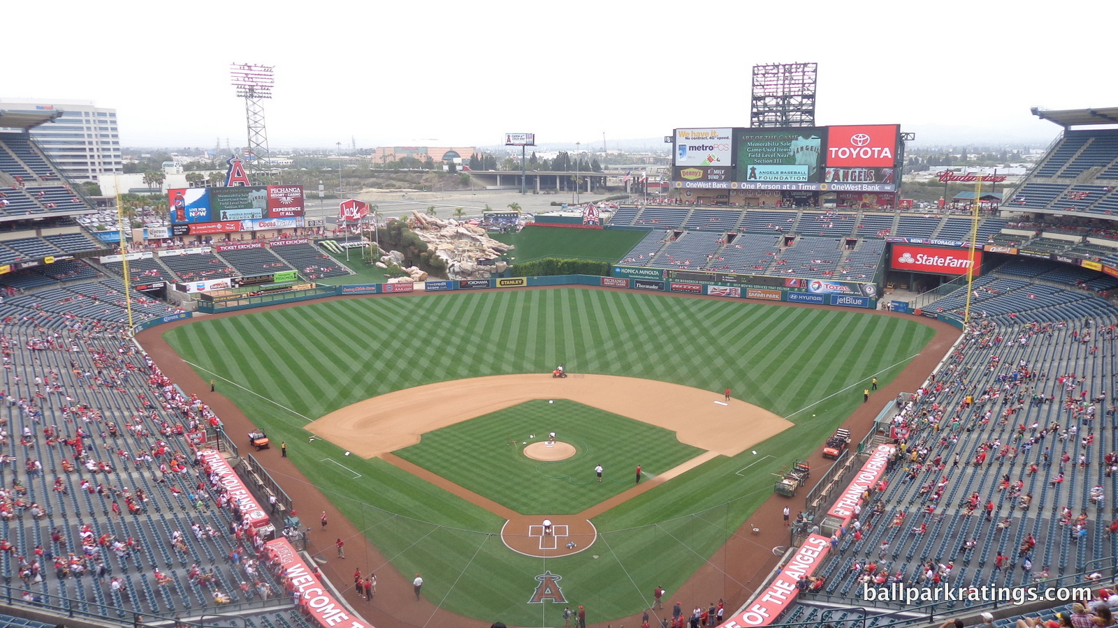 Angel Stadium Panorama