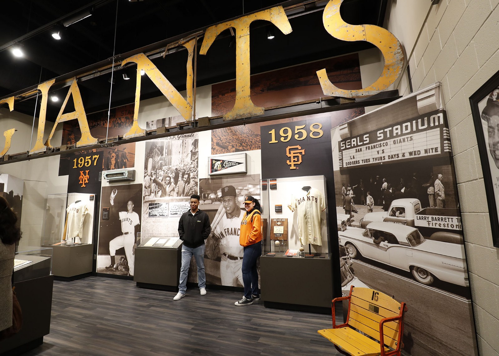 AT&T Park The Giants Vault