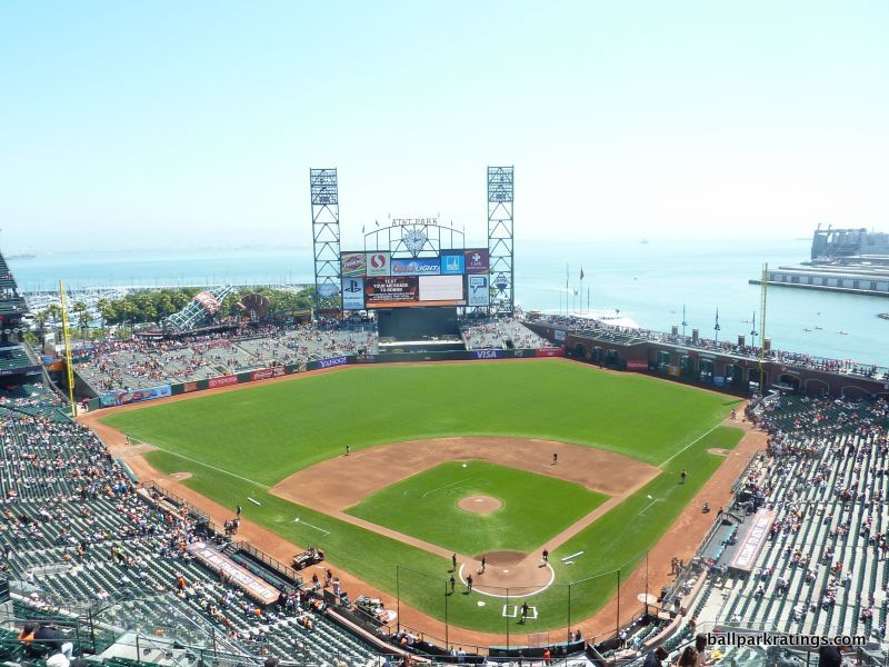 AT&T Park water views