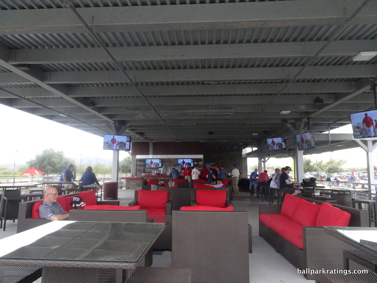 Goodyear Ballpark Right Field Pavilion Lounge