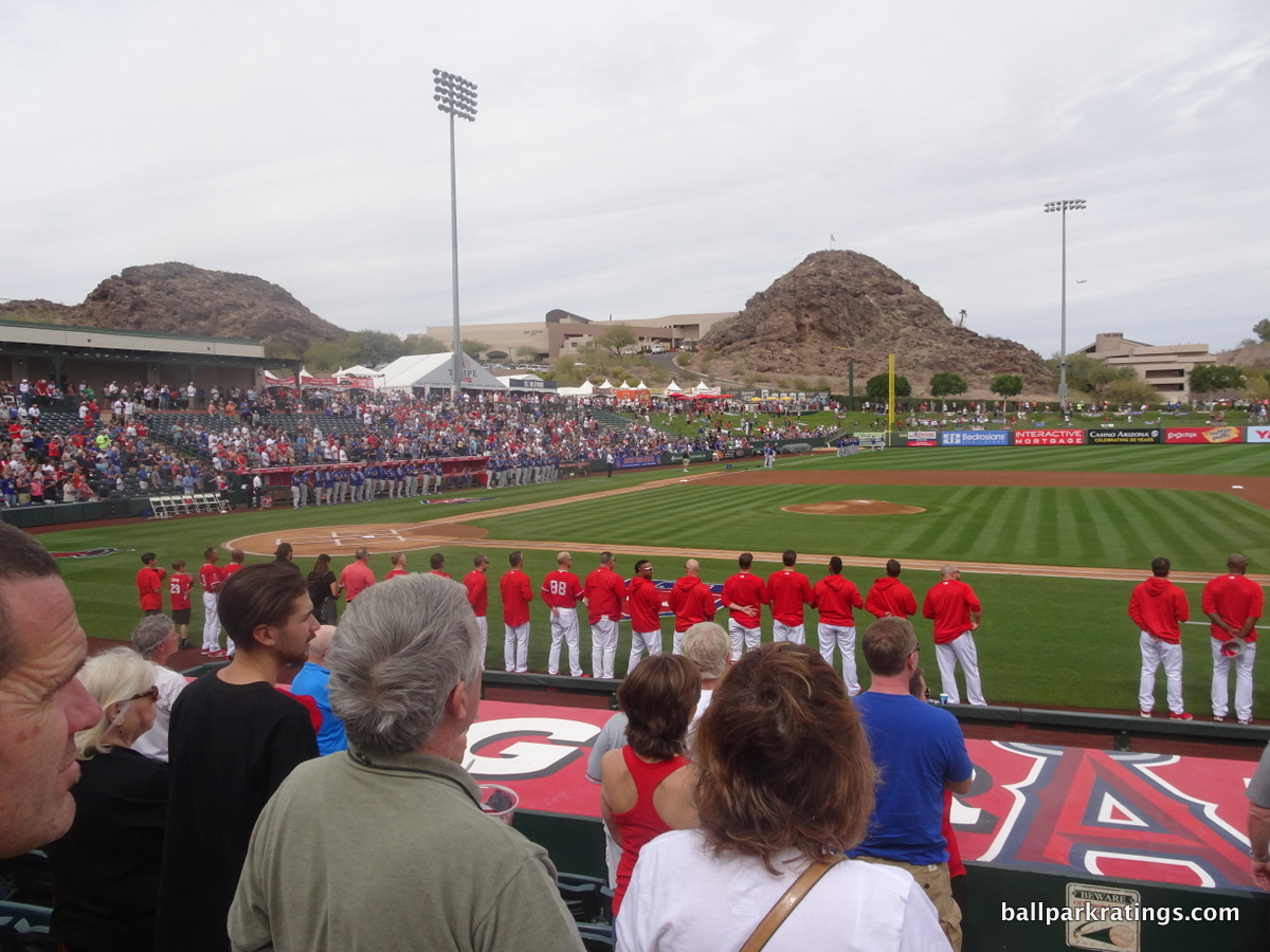 Tempe Diablo Stadium views