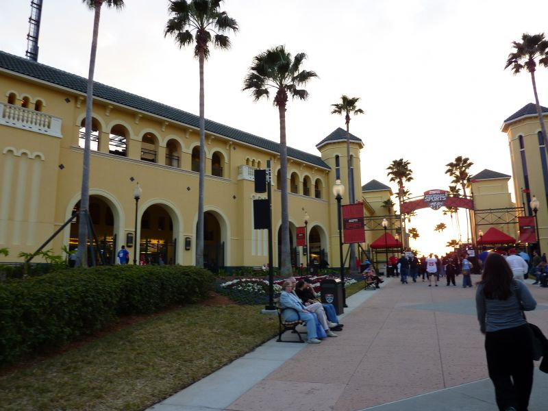 Champion Stadium Disney Braves architecture exterior