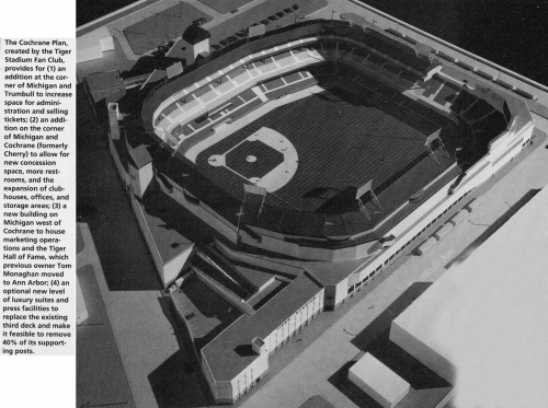 Tiger Stadium Cochrane Plan