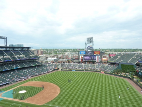 Coors Field views