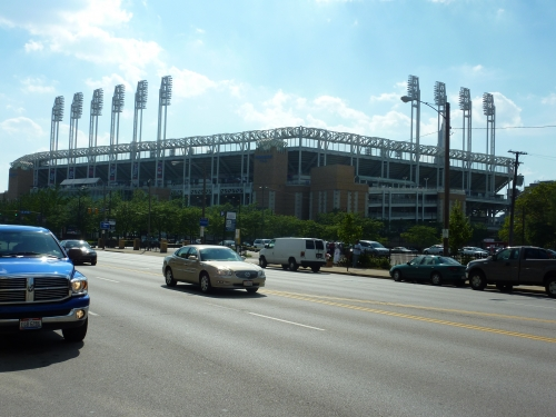 Progressive Field exterior design