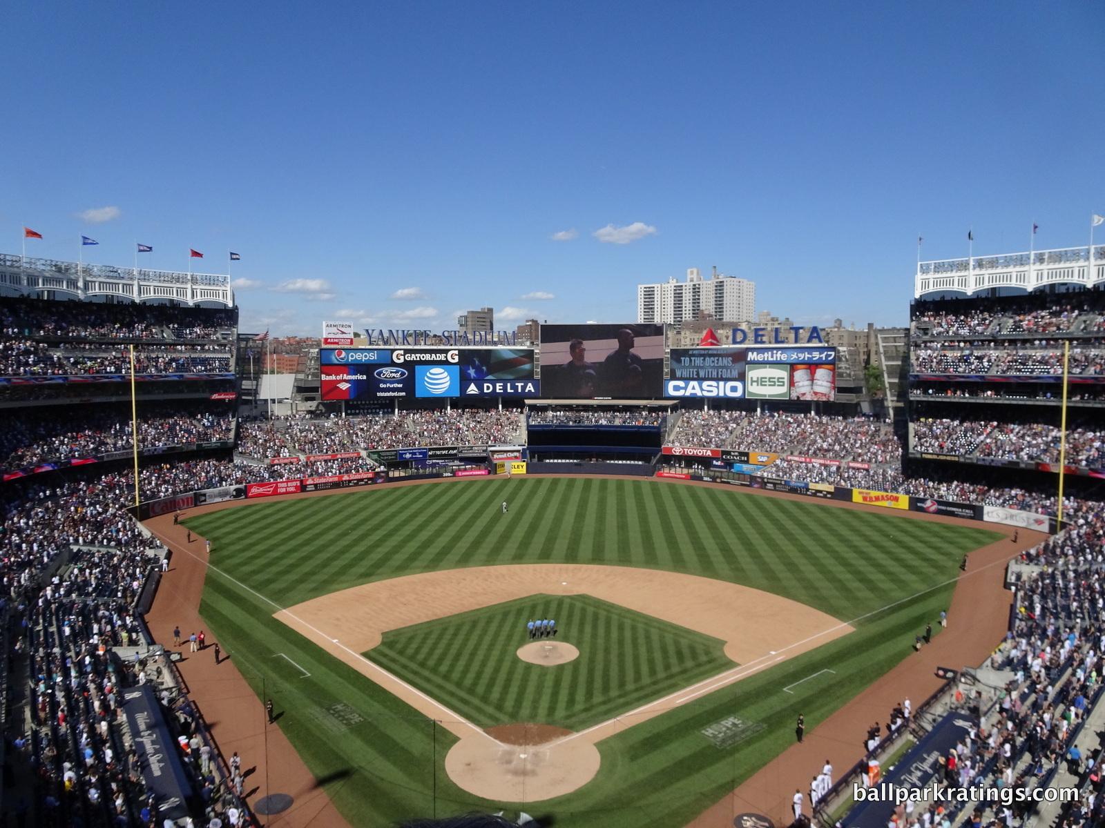 Yankee Stadium view
