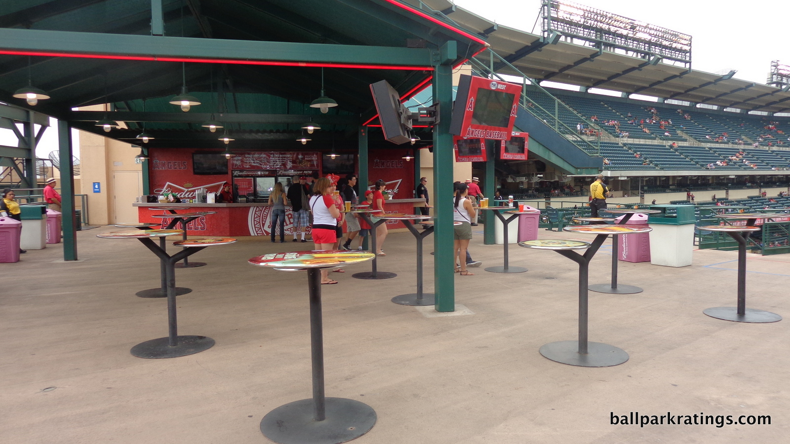 Angel Stadium Budweiser Patio