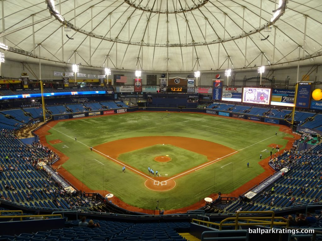 Tropicana Field view