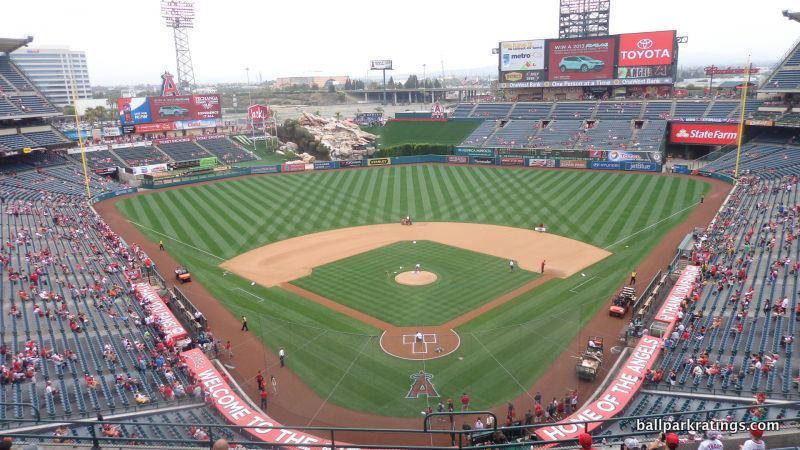Angel Stadium view