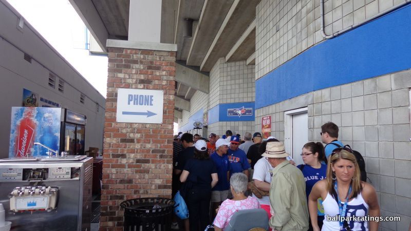 Dunedin Stadium Blue Jays spring training