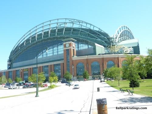 Miller Park exterior architecture