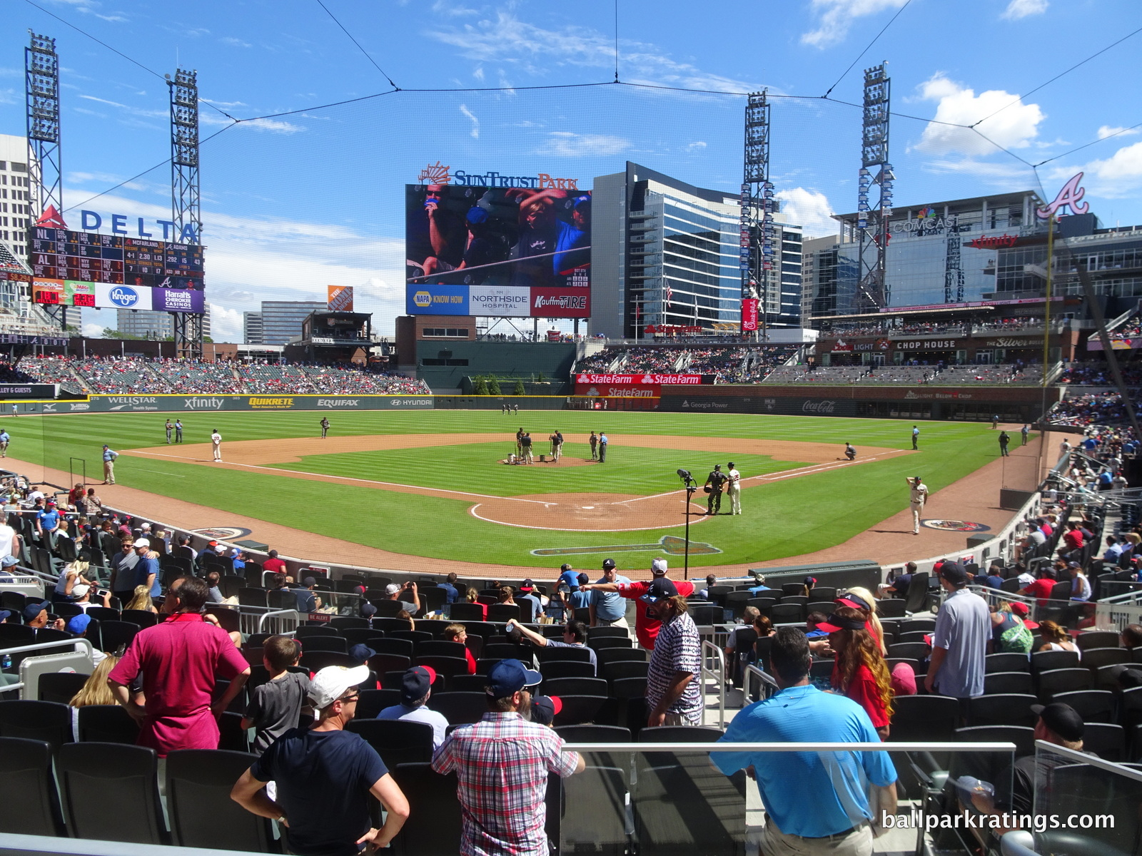 SunTrust Park review new
