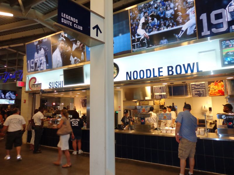 Yankee Stadium food