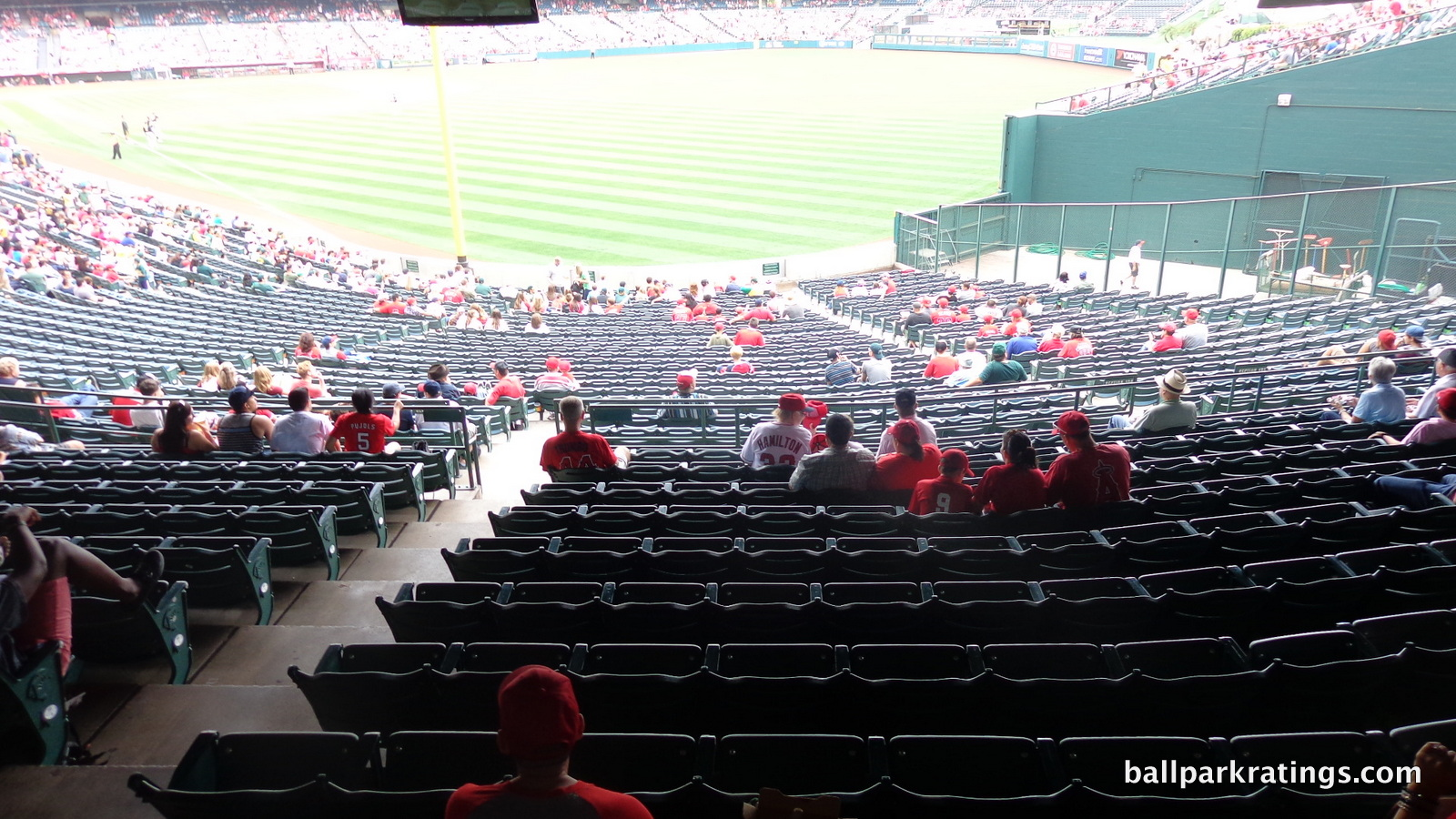Angel Stadium sightlines