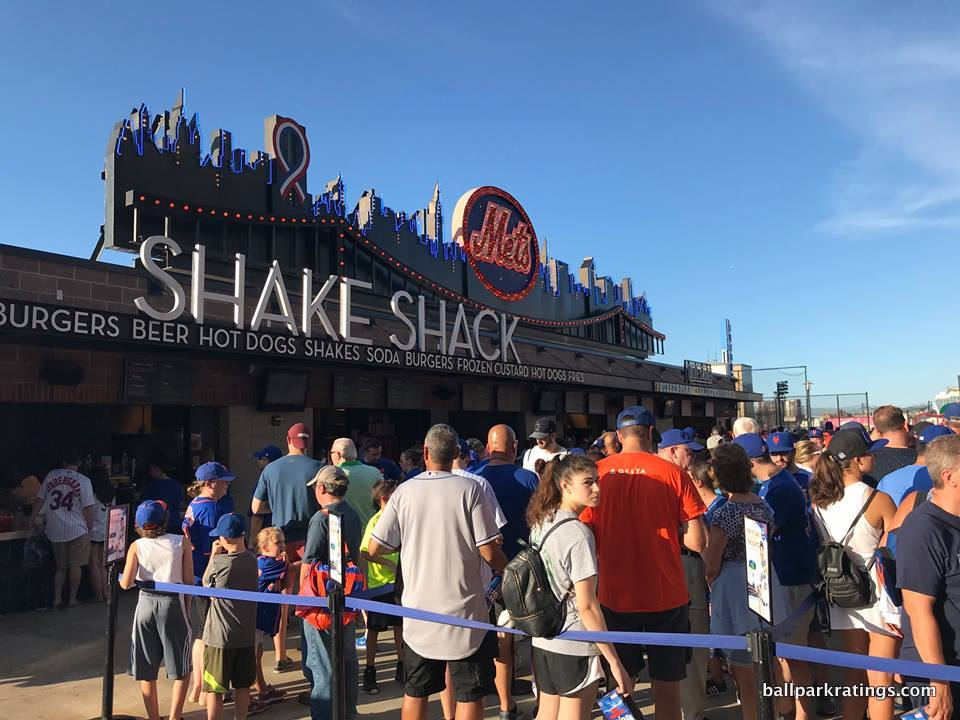 Citi Field Shake Shack.