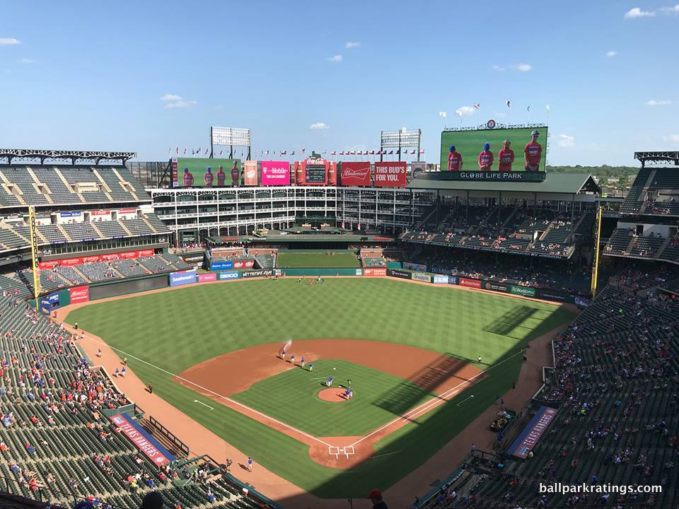 Globe Life Park in Arlington View