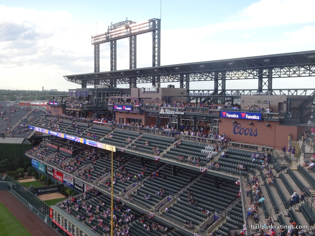 Coors Field rooftop