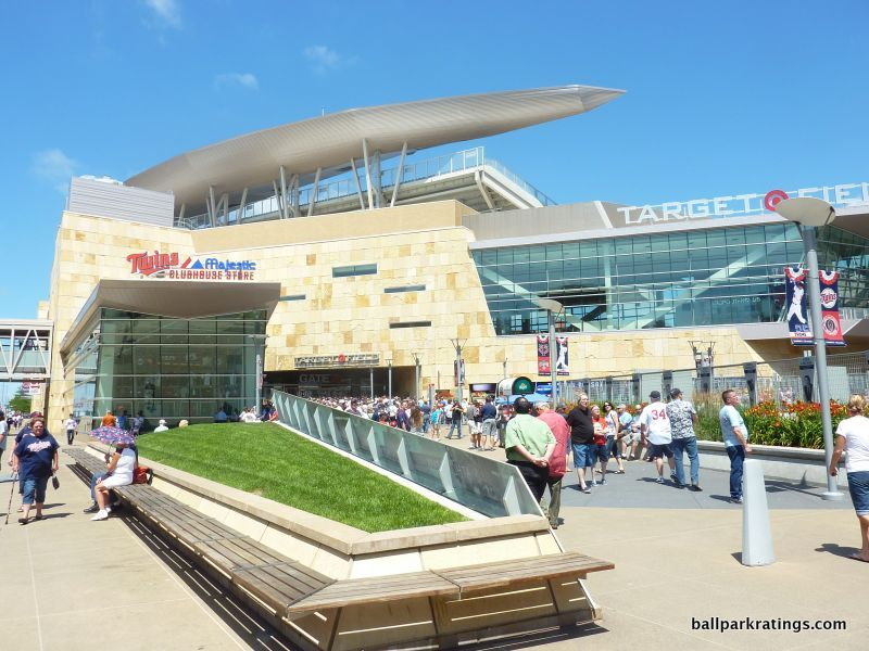 Target Field exterior architecture design
