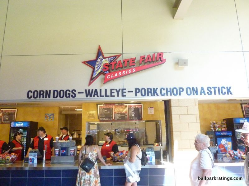 Target Field concessions