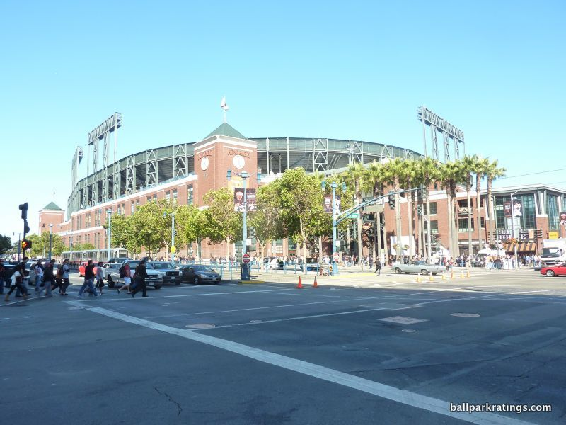 AT&T Park exterior architecture