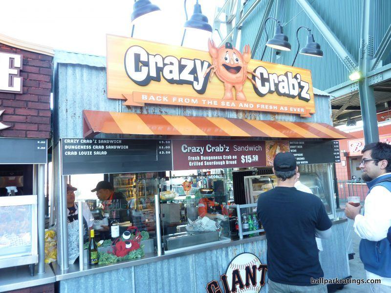 AT&T Park Crazy Crab'z