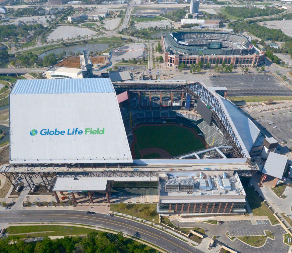 Globe Life Field vs. Globe Life Park