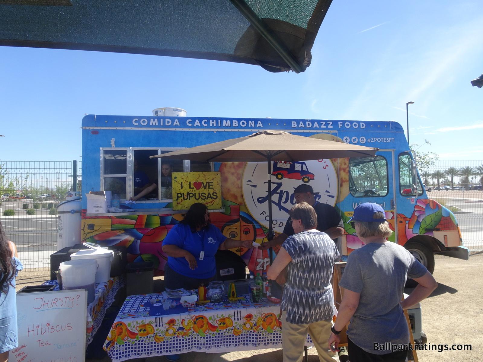 Sloan Park food truck
