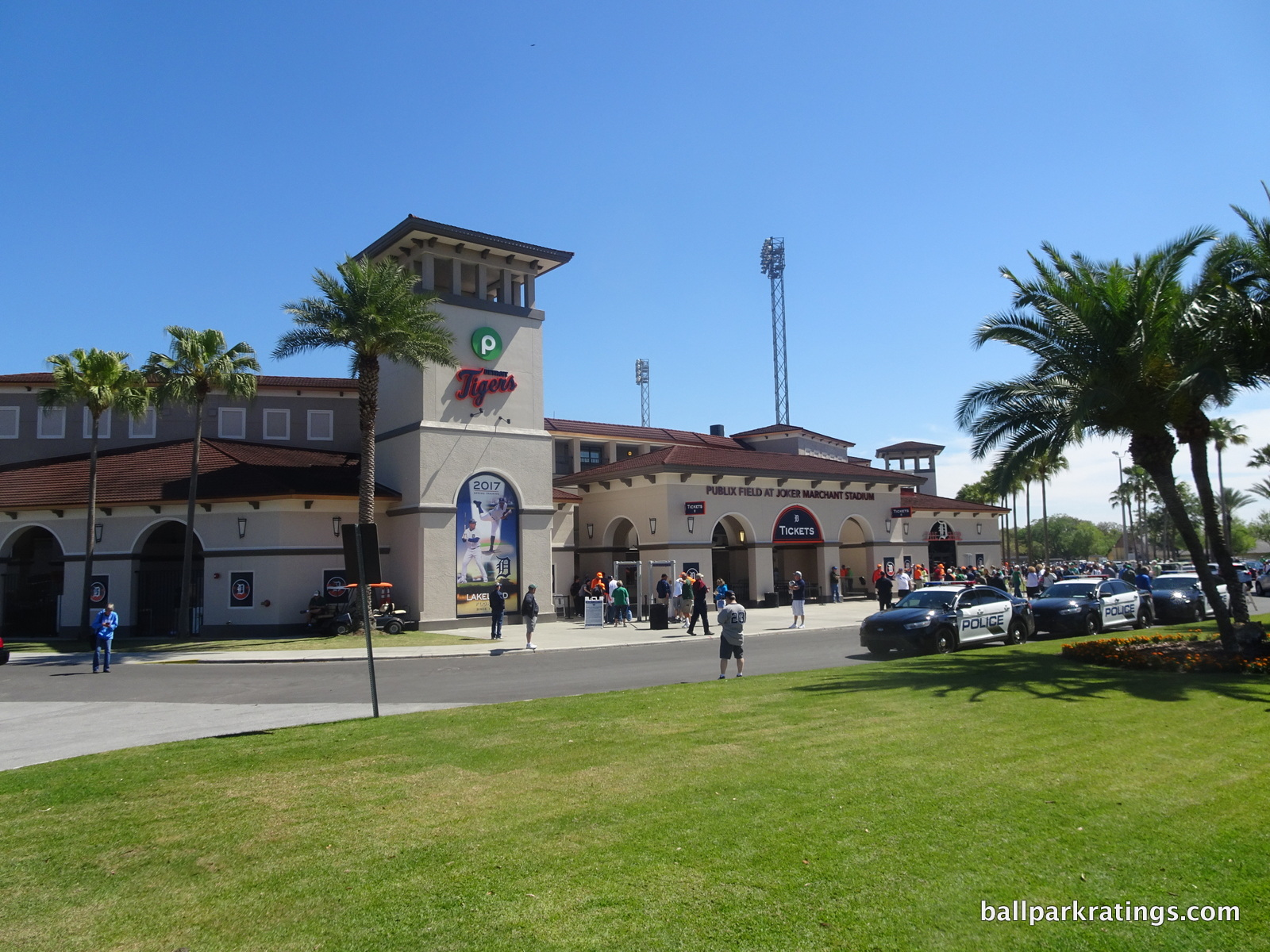 Publix Field at Joker Marchant Stadium exterior