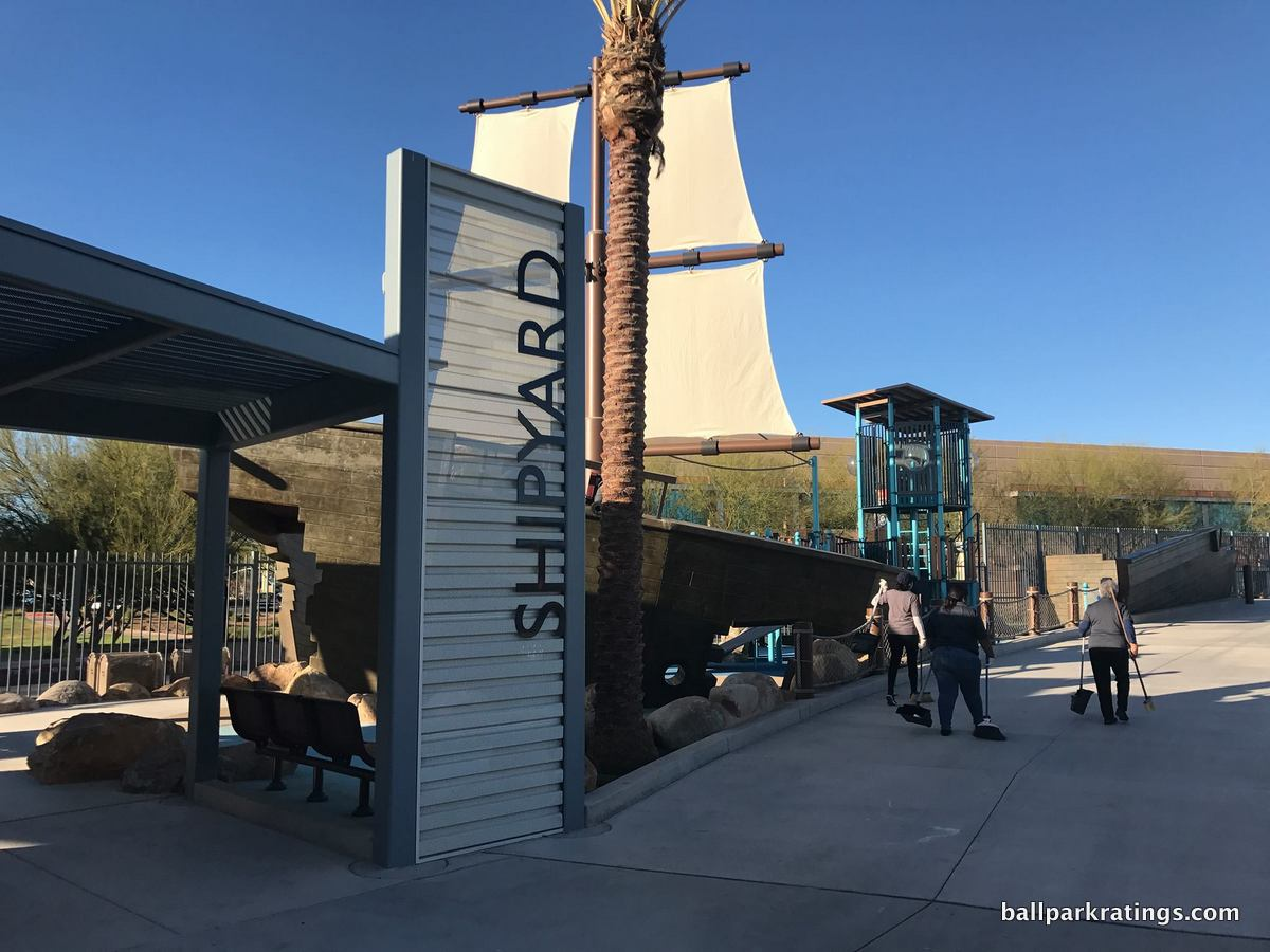 Peoria Sports Complex Shipyard kids area