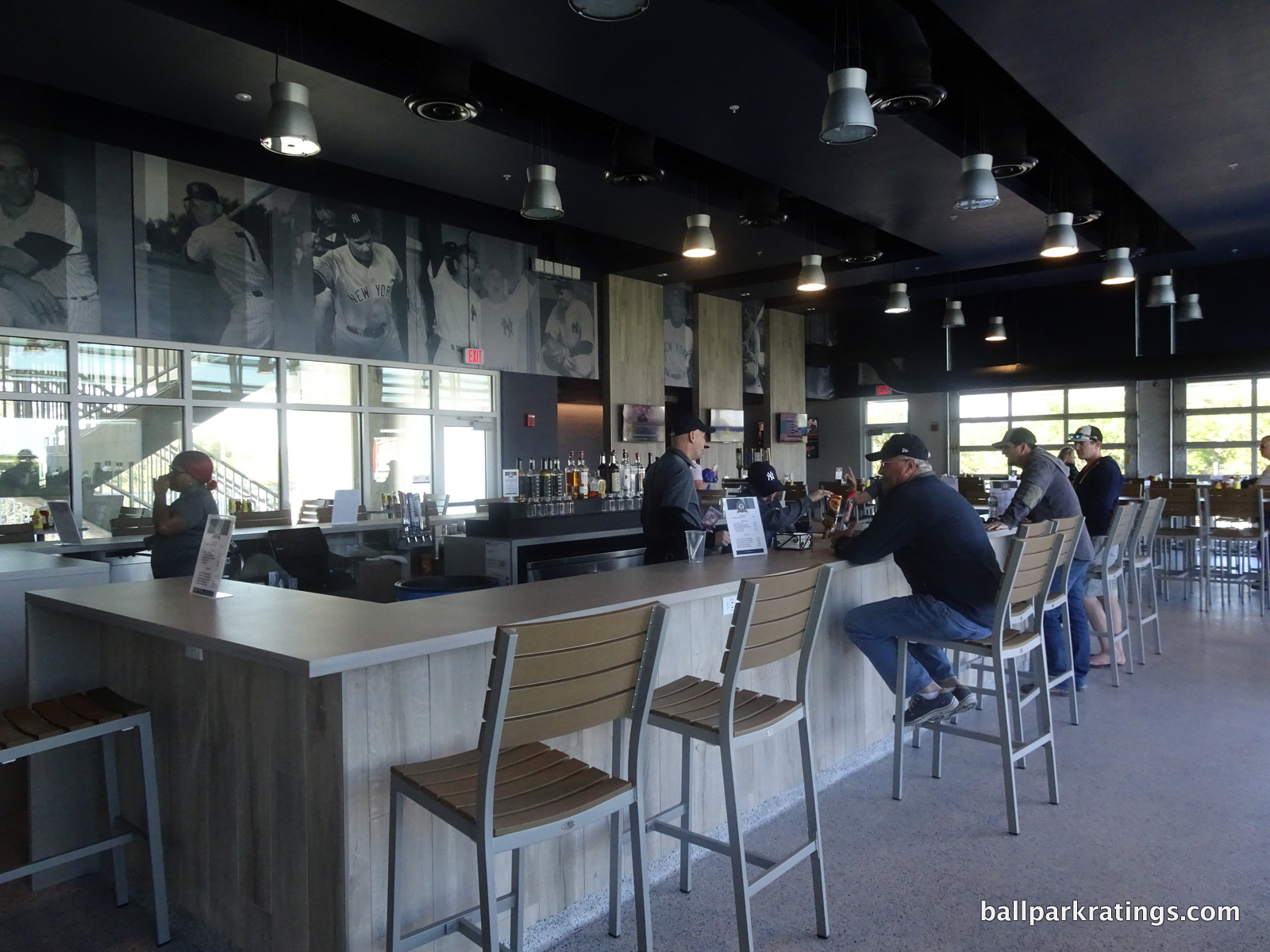 Steinbrenner Field club and bar