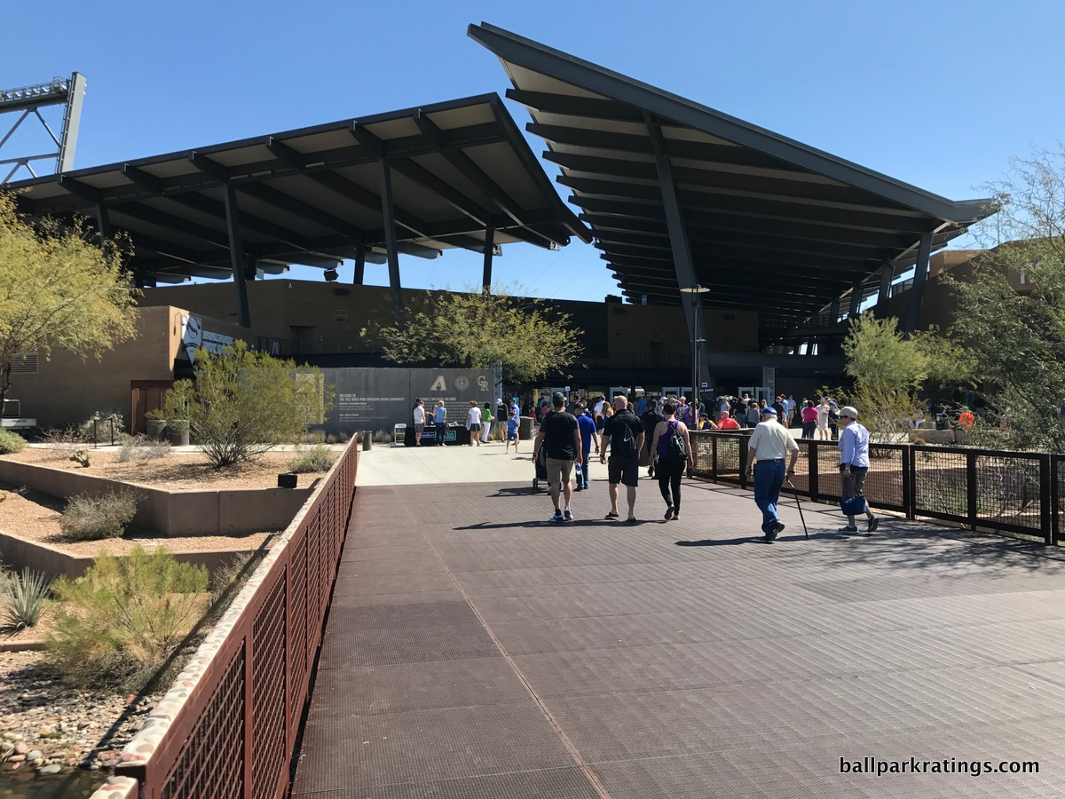 Salt River Fields at Talking Stick exterior