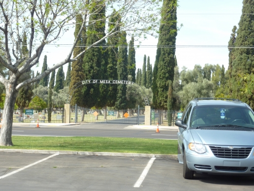 Hohokam Stadium: nothing screams Wrigleyville like city of Mesa cemetery