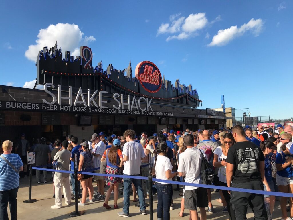 Citi Field food Shake Shack
