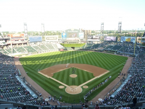 Guaranteed Rate Field panoramic view